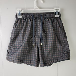 Mens H&M XS Checkered Swimming Trunks/Shorts